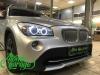 BMW X1 E84, замена линз на Hella 3R и ангельских глазок