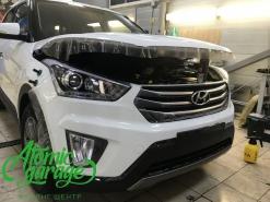 Hyundai Creta, оклейка кузова антигравийной пленкой
