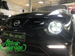 Nissan Juke Nismo, установка линз Bi-led Optima Pro