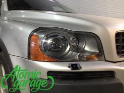 Volvo XC90, установка билинз Hella 3R + покраска масок фар