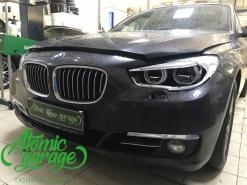 BMW 5 GT F07, замена левого стекла фары