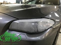 BMW 5 F10, замена стекол и ремонт корпуса фар