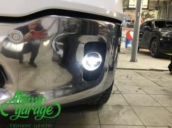 Dodge Ram 1500, установка светодиодных птф Morimoto XB