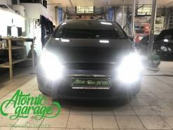 Ford S-Max, замена штатных линз на Hella 3R