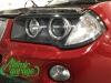BMW X3 E83, замена штатных линз на Hella 3R + восстановление стекол