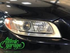 Volvo S80, замена линз на Hella 3R + восстановление стекол
