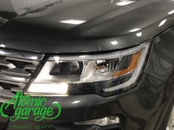 Ford Explorer 5 рестайлинг, линзы Bi-Led Optima Adaptive + Probright Base
