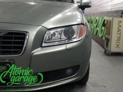 Volvo S80, замена линз на Hella 3R + полировка стекол фар