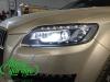 Audi Q7 рестайлинг, замена линз на Bi-led Diliht Triled + восстановление стекол