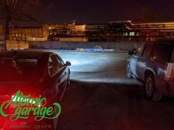Volvo S80, замена линз на Bi-led Aozoom Laser + восстановление стекол