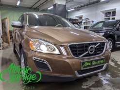Volvo XC60, замена линз на Hella 3R + восстановление стекол