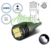 Светодиодная лампа Т10 3020 6smd с обманкой